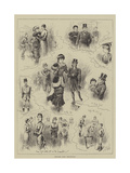 Sketches from Cheltenham Giclee Print by John Jellicoe