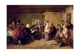 Presbyterian Catechising, 1847 Giclee Print by John Phillip