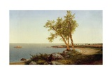 Shore Line in Summer Giclee Print by John Frederick Kensett