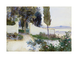 Gates of a Villa in Italy Giclee Print by John Singer Sargent
