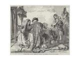 A Letter-Writer, Seville Giclee Print by John Phillip