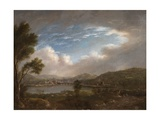 River Scene Giclee Print by John Warwick Smith
