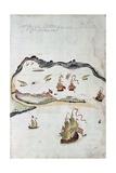 Morai Huts Giclee Print by John Webber