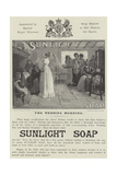 Advertisement, Sunlight Soap Giclee Print by John Henry Frederick Bacon