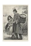 Down on His Luck Giclee Print by John Robertson Reid