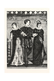 How Happy Could I Be with Either, 1876, Uk Giclee Print by John Scott