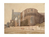 St. Luke's Chapel, Norwich Cathedral, 1808 Giclee Print by John Sell Cotman