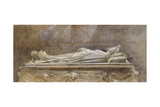 The Tomb of Ilaria Del Caretto in the Duomo Giclee Print by John Ruskin