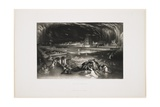 Fall of Babylon, 1826 Giclee Print by John Martin