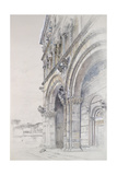 The Duomo of San Martino Giclee Print by John Ruskin