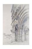 The Duomo of San Martino Giclee Print by John Ruskin