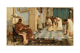 The Favourites of Emperor Honorius, C.1883 Giclee Print by John William Waterhouse