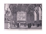 Parliament Hall, Edinburgh Giclee Print by John Fulleylove