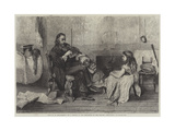 Out of an Engagement Giclee Print by John Pettie
