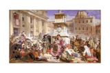 Easter Day at Rome Giclee Print by John Frederick Lewis