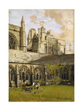 Cloisters at New College, Oxford Giclee Print by John Fulleylove