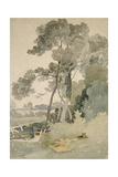Near Brandsby, Yorkshire, 1865 Giclee Print by John Sell Cotman