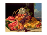 Still Life with Fruit Giclee Print by John F. Francis