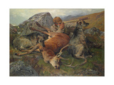 Watching the Stalkers, 1883 Giclee Print by John Sargent Noble