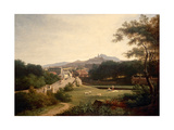 Edinburgh from Canonmills, C.1820-25 Giclee Print by John Knox