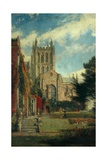 Hereford Cathedral Giclee Print by John William Buxton Knight