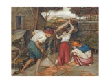 Winnowing Giclee Print by John Roddam Spencer Stanhope