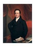 De Witt Clinton, C.1820 Giclee Print by John Wesley Jarvis