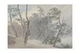 Galleria Di Sopra, Albano Giclee Print by John Robert Cozens