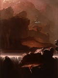 Sadak in Search of the Waters of Oblivion, 1812 Giclee Print by John Martin