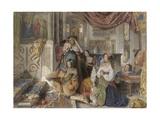 Roman Pilgrims, 1854 Giclee Print by John Frederick Lewis