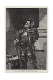 A Soldier of Fortune Giclee Print by John Seymour Lucas