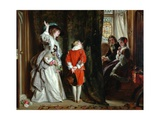 Pay for Peeping, 1872 Giclee Print by John Callcott Horsley