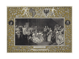 Marriage of the Princess Royal to Prince Frederick William of Prussia Giclee Print by John Phillip
