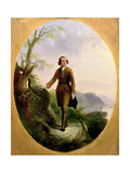 George Washington as a Young Surveyor, 1841 Giclee Print by John Gadsby Chapman