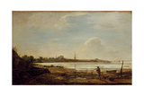 View of Southampton, 1819 Giclee Print by John Linnell