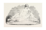 Exhibition of the Royal Academy, the Mother (Sculpture), 1851 Giclee Print by John Henry Foley