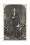 The Right Honourable Lord Viscount Palmerston Giclee Print by John Partridge