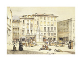 La Puerta Del Sol Giclee Print by John Frederick Lewis