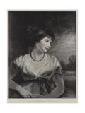 The Countess of Oxford Giclee Print by John Hoppner