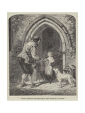 Hospitality, the Mote, Ightham, Kent Giclee Print by John Callcott Horsley