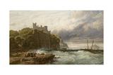 Culzean Castle, Ayrshire, 1877 Giclee Print by John Mogford