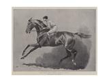 Tod Sloan, the Famous American Jockey Giclee Print by John Charlton