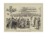 Lawn Tennis at Wimbledon, the Ladies' Singles Giclee Print by John Jellicoe