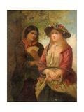 Gipsy and Girl Giclee Print by John Phillip