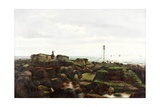 Beacon Rocks, Roker, Sunderland, 1885 Giclee Print by John Smith