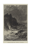 Tantallon Castle, from Caledonia, Illustrated Giclee Print by John MacWhirter