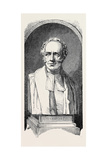 Marble Bust of Dr. Andrew Reed Giclee Print by John Henry Foley