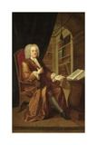 Benjamin Moreland, High Master of St Paul's School, 1724 Giclee Print by John Smibert