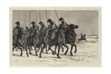 Cossacks on the March Giclee Print by John Evan Hodgson