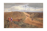 Mousehold Heath, Norwich, C.1810 Giclee Print by John Sell Cotman